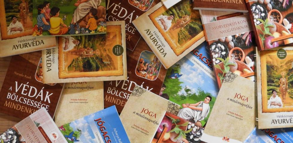 AyurPress könyvek